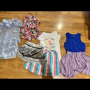 Other - Summer outfits size 7/8